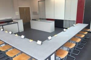 Primary school science lab