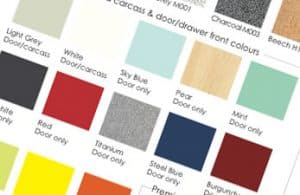 Shadecard view our colour swatches.