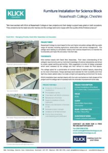CASE STUDY Reaseheath College