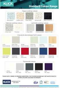 New Standard Colour Range