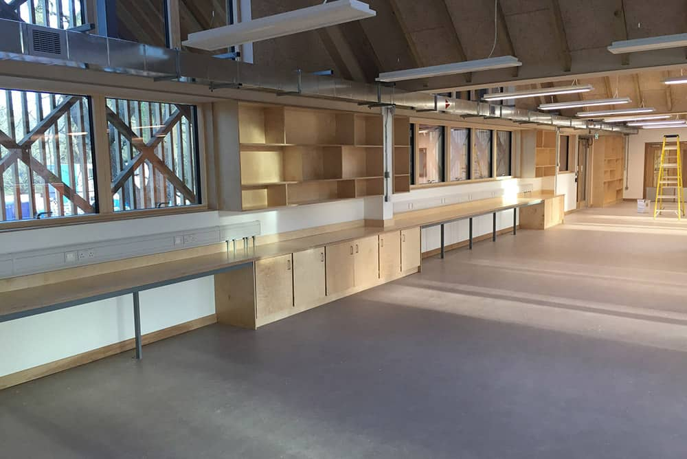 Design and technology furniture Bedales School
