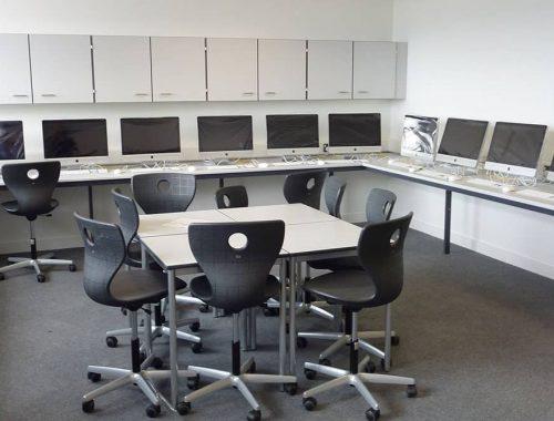 ICT suite furniture for Brannel School