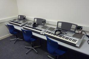 Music room furniture for Brannel School