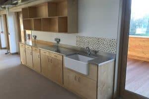 sink, sockets, shelving (4)