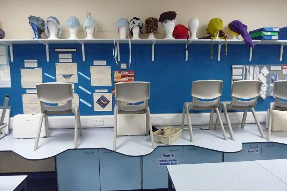 Textiles furniture for Braunton Academy