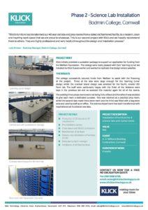 CASE STUDY Bodmin College Phase 2