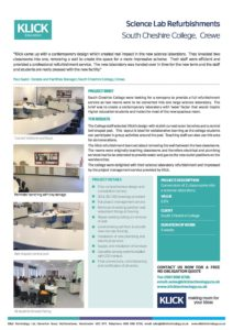 CASE STUDY South Cheshire College