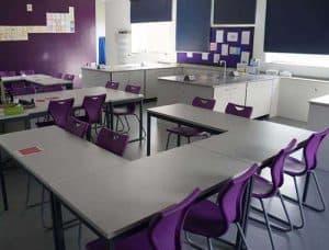 Royal Masonic School Science Laboratory furniture