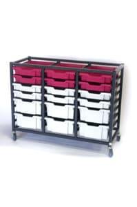 Grey Pink 24 try storage