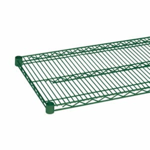 Nylon coated wire shelving