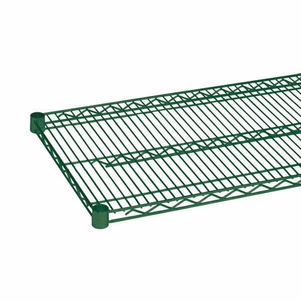 Nylon coated wire shelving