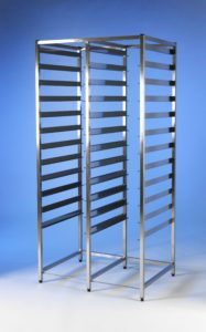 Klick Technology HTM71 Double Frame Modular Storage, shown without HTM71 trays, HTM71 Baskets