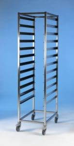 Klick Technology HTM71 Single Frame Modular Storage, shown without HTM71 trays, HTM71 Baskets