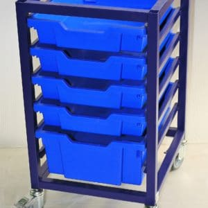Superstack Blue frame and Trays, mo MFC Top