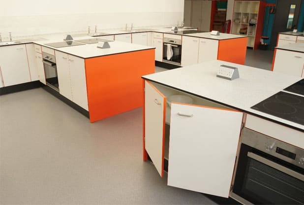 The Lakes School Food Tech Room