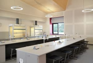 Charterhouse School science lab benching