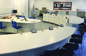 South Cheshire science lab