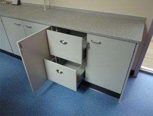 Laboratory furniture Cheltenham College
