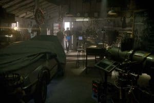 Laboratory from back to the future.