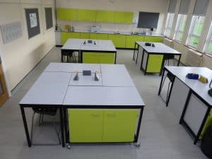 Ryedale School Science Lab multinational space.