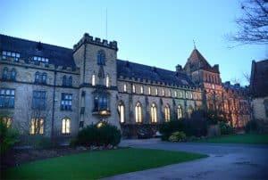 Tonbridge School building.