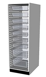HTM71 Tall Cabinets 1700 3D visualization.