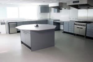 Food Technology classroom for schools