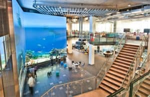 The Cube at Queensland University of Technology's new Science and Engineering Centre
