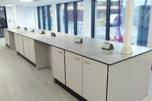 Lab Furniture Installation