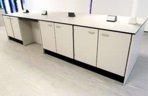 Research laboratory benching.