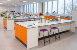 York University laboratory lab benching.