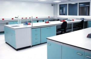 Hologic science laboratory for genetic testing.