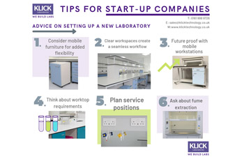 6 tips on how to set up a new laboratory