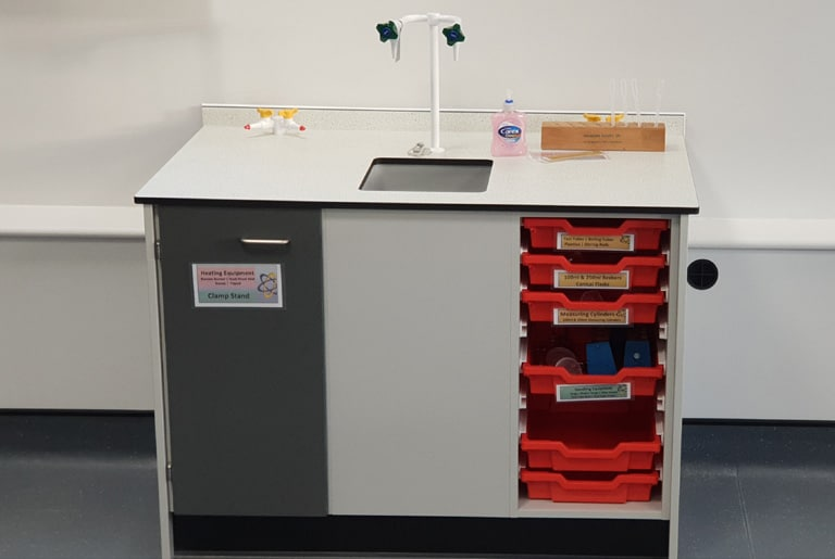 Penrice Academy science laboratory furniture