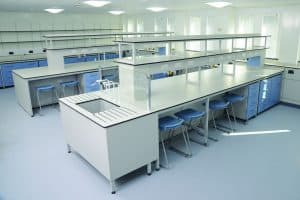 Kent University Laboratory Furniture