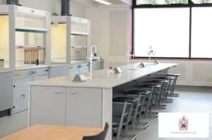 Charerhouse School science laboratory fume cupboards