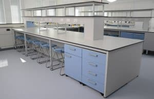Kent University successful installation of laboratory furniture