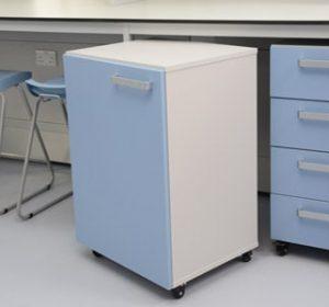 Klick Technology laboratory mobile cupboards