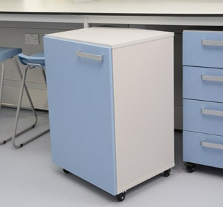 Klick Technology laboratory mobile cupboards