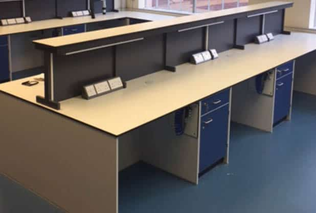 Industrial Laboratory Furniture design for EWB Solutions