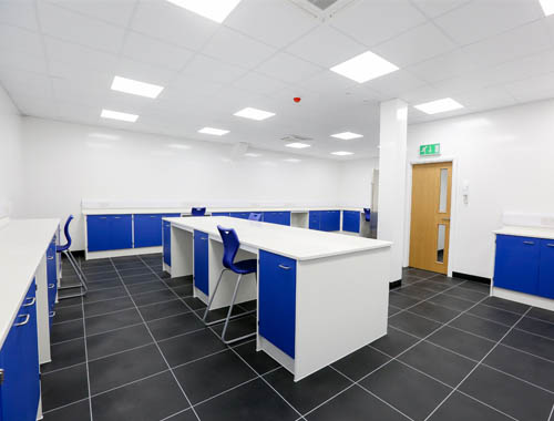 Pathology laboratory design and furniture installation
