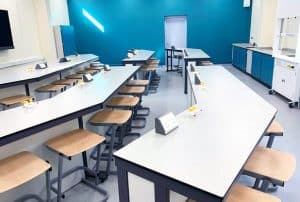 School science laboratory refurbishment at Carlton Academy, Nottingham