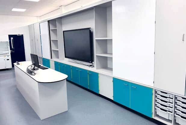 Science laboratory refurbishment for West Kirby Grammar School
