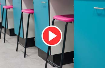 University laboratory furniture - University of York Biology Department