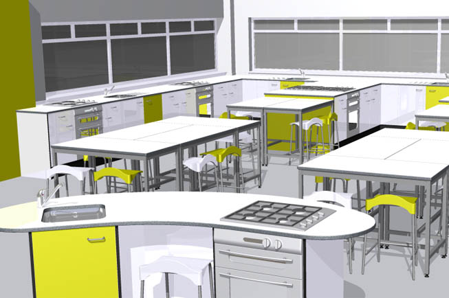 Food Technology Classroom Design