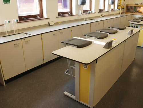 Biology Lab Design - Trent College, Nottingham
