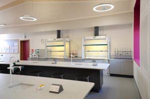 Chemistry Lab Design - Charterhouse School