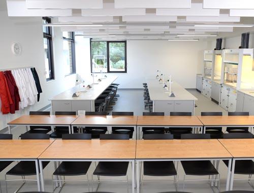 Contemporary School Laboratory Design - Charterhouse School