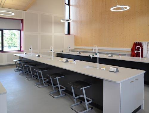Design of school labs for Charterhouse School, Surrey