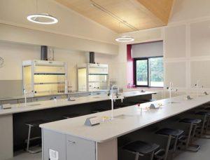 School Laboratory Design - Charterhouse School